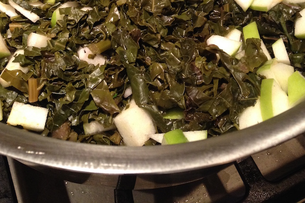Yummy Kale Side Dish For A Cancer Diet